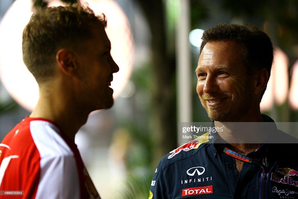 F1 Grand Prix of Singapore - Practice : News Photo