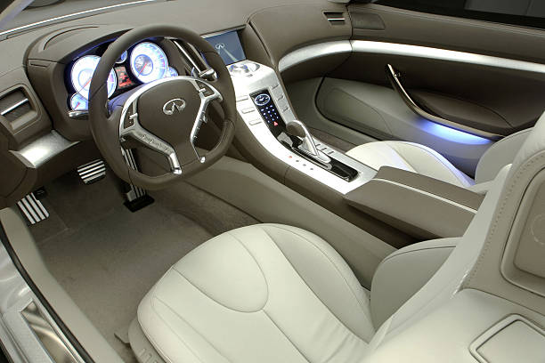 Infiniti Debuts Dramatic Coupe Concept Photos And Images Getty Images