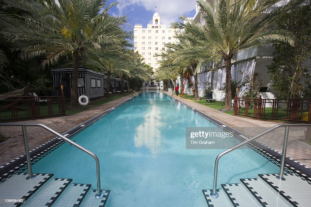 Infinity Pool Oceanside At The National Hotel In Collins Avenue South Beach Miami