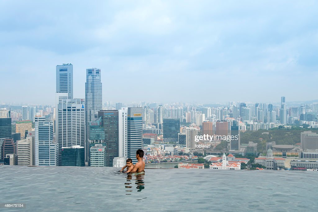 Infinity Pool : Stock Photo
