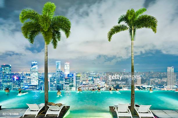 Infinity Pool, SkyPark, Marina Bay Sands Hotel, Singapore