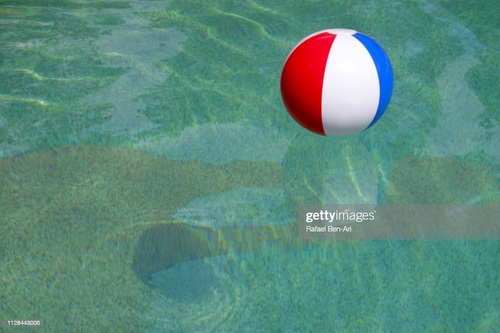 Inflatable Beach Ball : Stock Photo