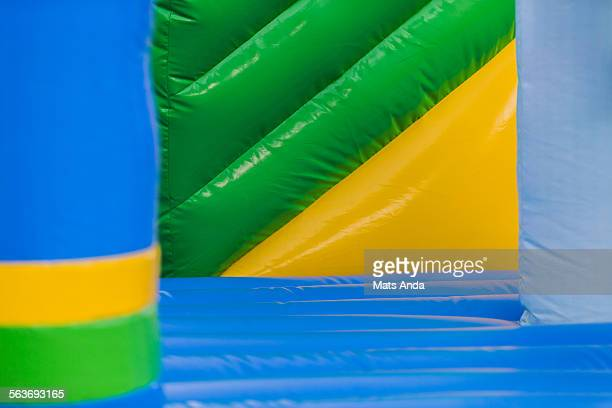 Inflatable castle abstract
