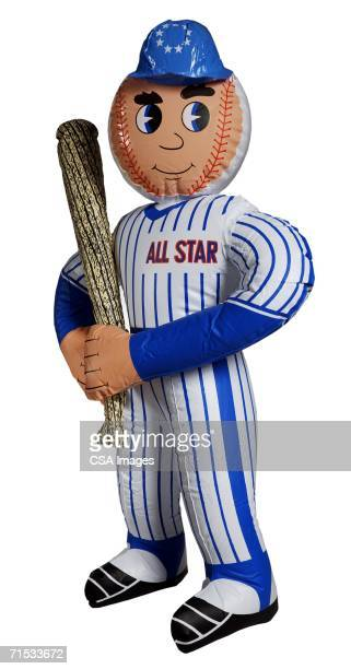 inflatable toy baseball player - blow up doll stock pictures, royalty-free photos & images