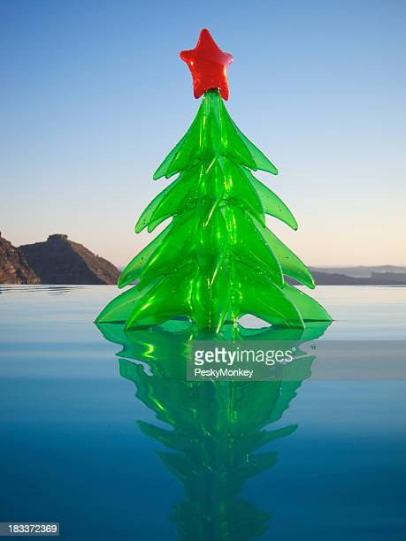 Inflatable Toy Christmas Tree Floating Resort Swimming Pool