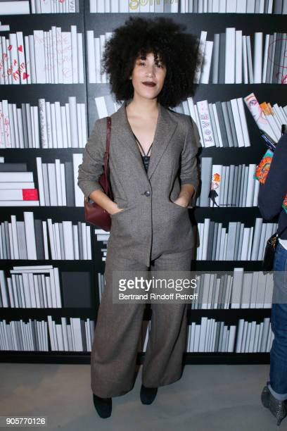 Influancer Adeline Rapon attends the Manifesto Sonia Rykiel 5Oth Birthday Party at the Flagship Store Boulevard Saint Germain des Pres on January 16...