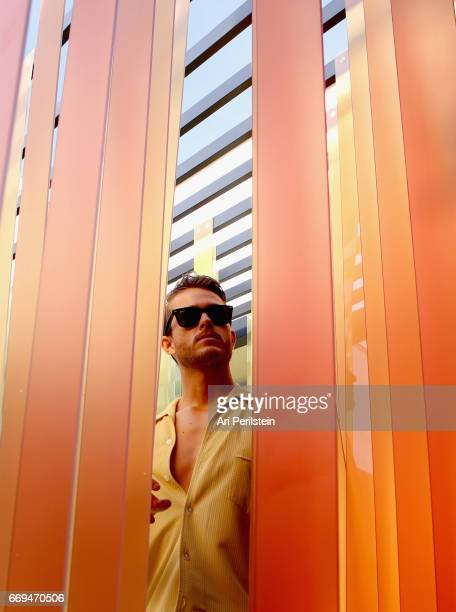 Influencer Adam Gallagher attends the American Express Platinum House at The Parker Palm Springs on April 16 2017 in Palm Springs California