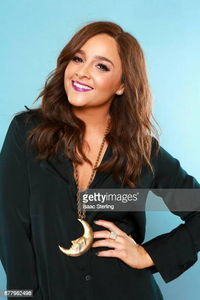 Influencer Alisan Porter poses for portrait at the American Influencer Awards at LA Live on November 18 2017 in Los Angeles California