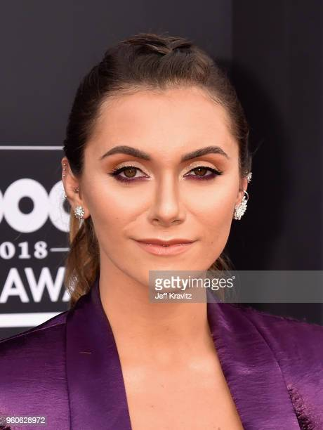 Influencer Alyson Stoner attends the 2018 Billboard Music Awards at MGM Grand Garden Arena on May 20, 2018 in Las Vegas, Nevada.
