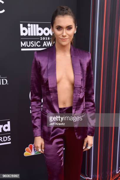 Influencer Alyson Stoner attends the 2018 Billboard Music Awards at MGM Grand Garden Arena on May 20 2018 in Las Vegas Nevada