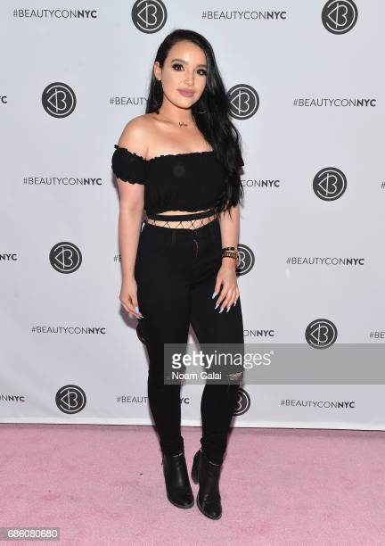 Influencer Amanda Ensing attends Beautycon Festival NYC 2017 at Brooklyn Cruise Terminal on May 20 2017 in New York City