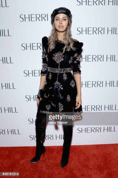Influencer Annabelle Fleur attends the Sherri Hill NYFW SS18 runway show at Gotham Hall on September 12 2017 in New York City