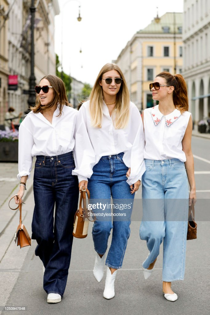 Street Style Shooting In Munich : Photo d'actualité