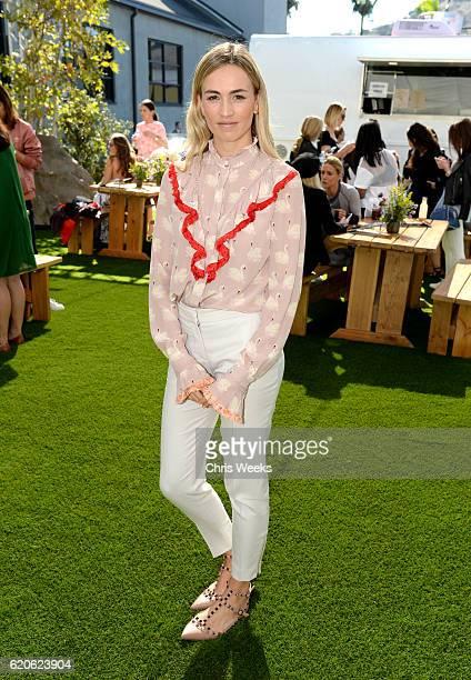 Influencer Carmen Jorda attends adidas by Stella McCartney Spring Summer 2017 Collection Presentation on November 2 2016 in Los Angeles California