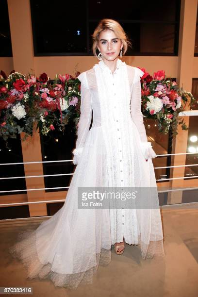 Influencer Caro Daur during the 24th Opera Gala at Deutsche Oper Berlin on November 4 2017 in Berlin Germany