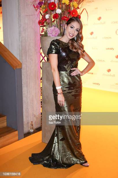 Influencer Caroline Einhoff attends the Dreamball 2018 at WECC Westhafen Event Convention Center on September 19 2018 in Berlin Germany