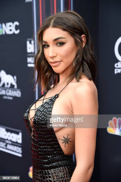 Influencer Chantel Jeffries attends the 2018 Billboard Music Awards at MGM Grand Garden Arena on May 20, 2018 in Las Vegas, Nevada.