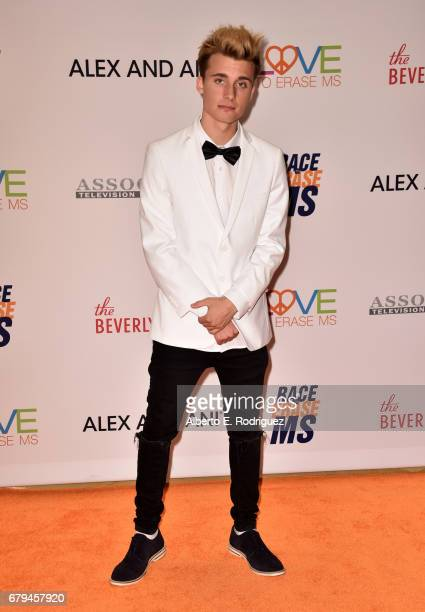 Influencer Christian Collins attends the 24th Annual Race To Erase MS Gala at The Beverly Hilton Hotel on May 5 2017 in Beverly Hills California