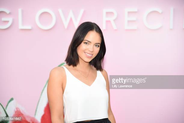 Influencer Claudia Sulewski attends Glow Recipe presents Watermelon Night Market at The Grove at Glow Studio Grove on September 12 2018 in Los...