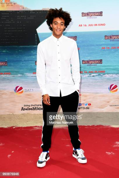 Influencer Dillan attends the 'Hotel Transsilvanien 3' premiere at CineStar on July 8 2018 in Berlin Germany