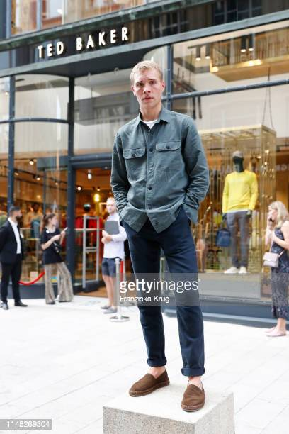 Influencer Fabian Lueck during the Ted Baker store opening event on June 5 2019 in Hamburg Germany