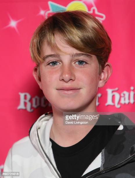 InfluencerÊ Jack Schwartz attends social media influencer Annie LeBlanc's 13th birthday party at Calamigos Beach Club on December 9 2017 in Malibu...