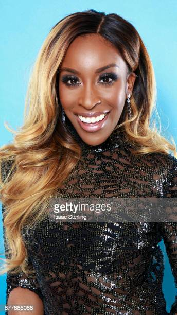 Influencer Jackie Aina poses for portrait at the American Influencer Awards at LA Live on November 18 2017 in Los Angeles California