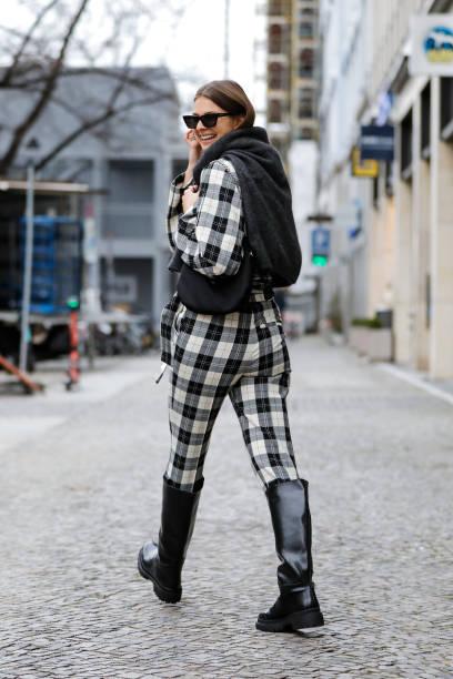 DEU: Street Style - Mercedes-Benz Fashion Week Berlin January 2021 - January 20, 2021