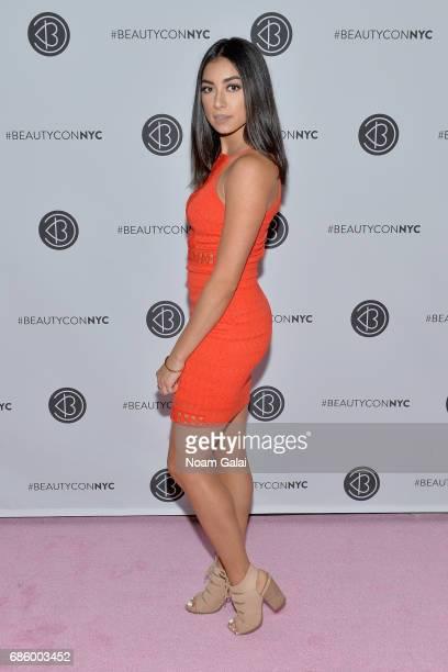 Influencer Jeanine Amapola attends Beautycon Festival NYC 2017 at Brooklyn Cruise Terminal on May 20 2017 in New York City
