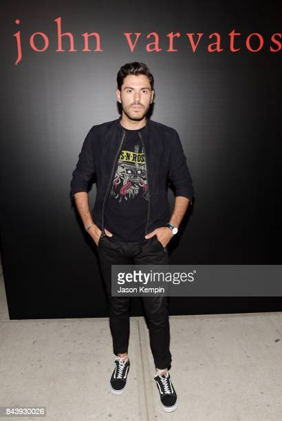 Influencer Joey Zauzig attends the John Varvatos x MGK Fashion Week Concert at John Varvatos 315 Bowery Boutique on September 7 2017 in New York City