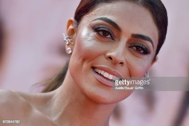 Influencer Juliana Paes arrives at the American Film Institute's 46th Life Achievement Award Gala Tribute to George Clooney on June 7 2018 in...