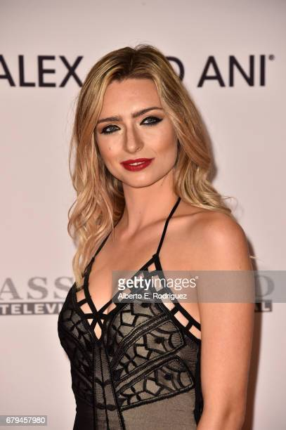 Influencer Kirsten Collins attends the 24th Annual Race To Erase MS Gala at The Beverly Hilton Hotel on May 5 2017 in Beverly Hills California