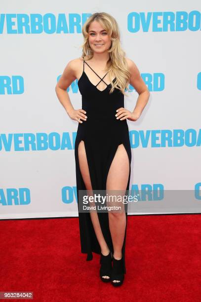 Influencer Lenay Chantelle attends the premiere of Lionsgate and Pantelion Film's 'Overboard' at Regency Village Theatre on April 30 2018 in Westwood...