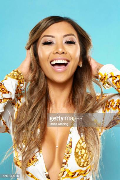 Influencer Liane Valenzuela poses for portrait at the American Influencer Awards at LA Live on November 18 2017 in Los Angeles California