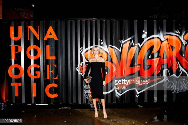 Influencer Lisa Hahnbrueck at the Unapologetic Night by BVLGARI x Constantin Film at BVLGARI CLVB on February 23 2020 in Berlin Germany