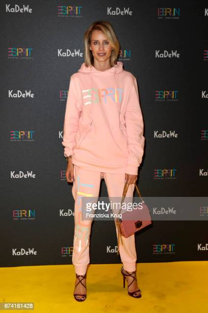 Influencer Lisa Hahnbueck attends the KaDeWe Launch Event 'Esprit by Opening Ceremony' on April 27 2017 in Berlin Germany