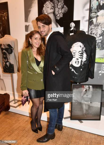 Influencer Mademoiselle Valerie and actor Mike Desa attend Maurice Renoma Tribute to Street Art Preview at Espace Bernard Palissy on March 07 2019...