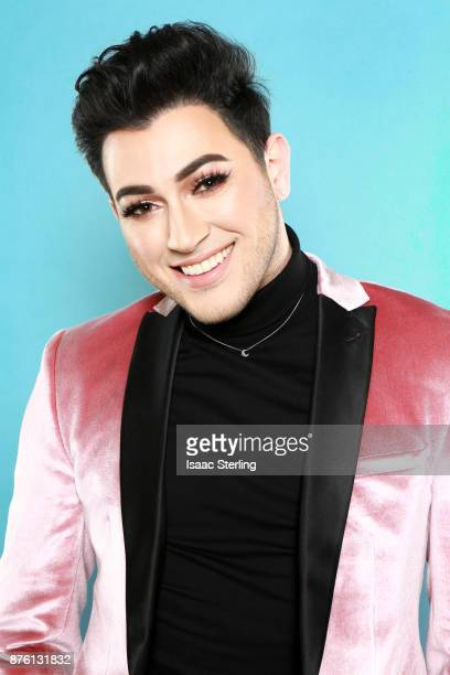 Influencer Manny Gutierrez poses for portrait at the American Influencer Awards at LA Live on November 18 2017 in Los Angeles California