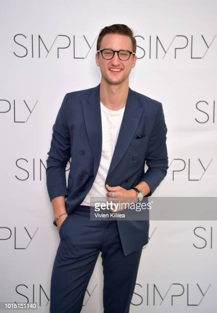 Influencer Marcel Floruss attends the SIMPLY LA Fashion Beauty Conference Powered By WhoWhatWear at The Americana at Brand on August 11 2018 in...