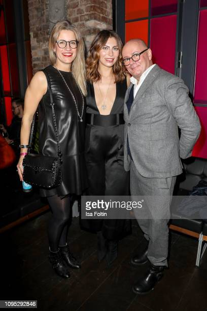 Influencer Maria Astor alias Masha Sedgwick and Andre Maeder and guest during the Bulgari party with the motto #Starsinbulgari on February 7 2019 in...