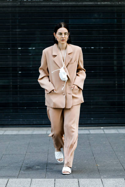 DEU: Street Style - Dusseldorf - July 12, 2020