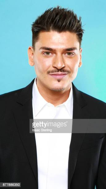 Influencer Mario Dedivanovic poses for portrait at the American Influencer Awards at LA Live on November 18 2017 in Los Angeles California