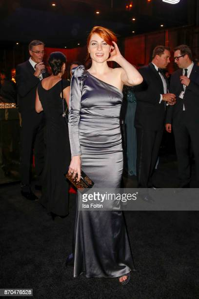 Influencer Masha Sedgwick attends the aftershow party during during the 24th Opera Gala at Deutsche Oper Berlin on November 4 2017 in Berlin Germany