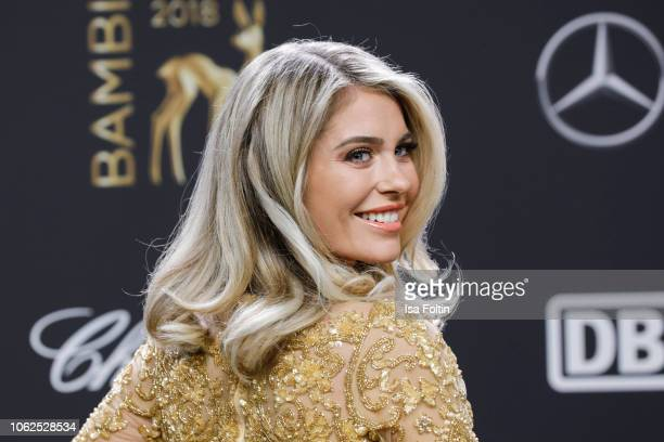 Influencer Mrs. Bella attends the 70th Bambi Awards at Stage Theater on November 16, 2018 in Berlin, Germany.