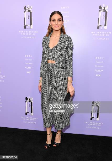 Influencer Olivia Palermo attends 2018 Fragrance Foundation Awards at Alice Tully Hall at Lincoln Center on June 12, 2018 in New York City.
