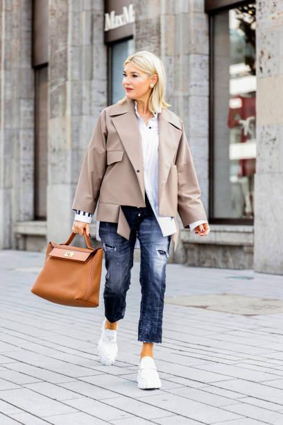 DEU: Street Style - Dusseldorf - October, 2021