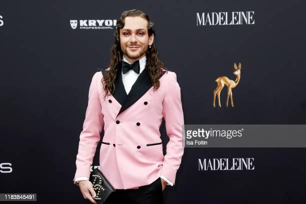 Influencer Riccardo Simonetti arrives for the 71st Bambi Awards at Festspielhaus BadenBaden on November 21 2019 in BadenBaden Germany