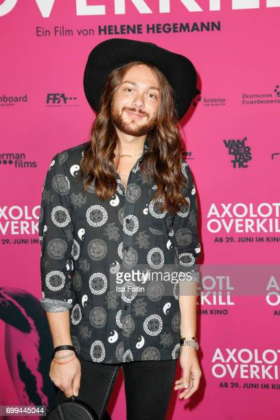 Influencer Riccardo Simonetti attends the 'Axolotl Overkill' Berlin Premiere at Volksbuehne RosaLuxemburgPlatz on June 21 2017 in Berlin Germany