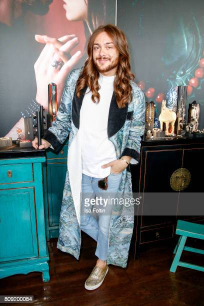 Influencer Riccardo Simonetti attends the Thomas Sabo Press Cocktail during the Mercedes-Benz Fashion Week Berlin Spring/Summer 2017 at China Club on...