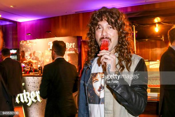 Influencer Riccardo Simonetti during the Echo Award after show party at Palais am Funkturm on April 12 2018 in Berlin Germany